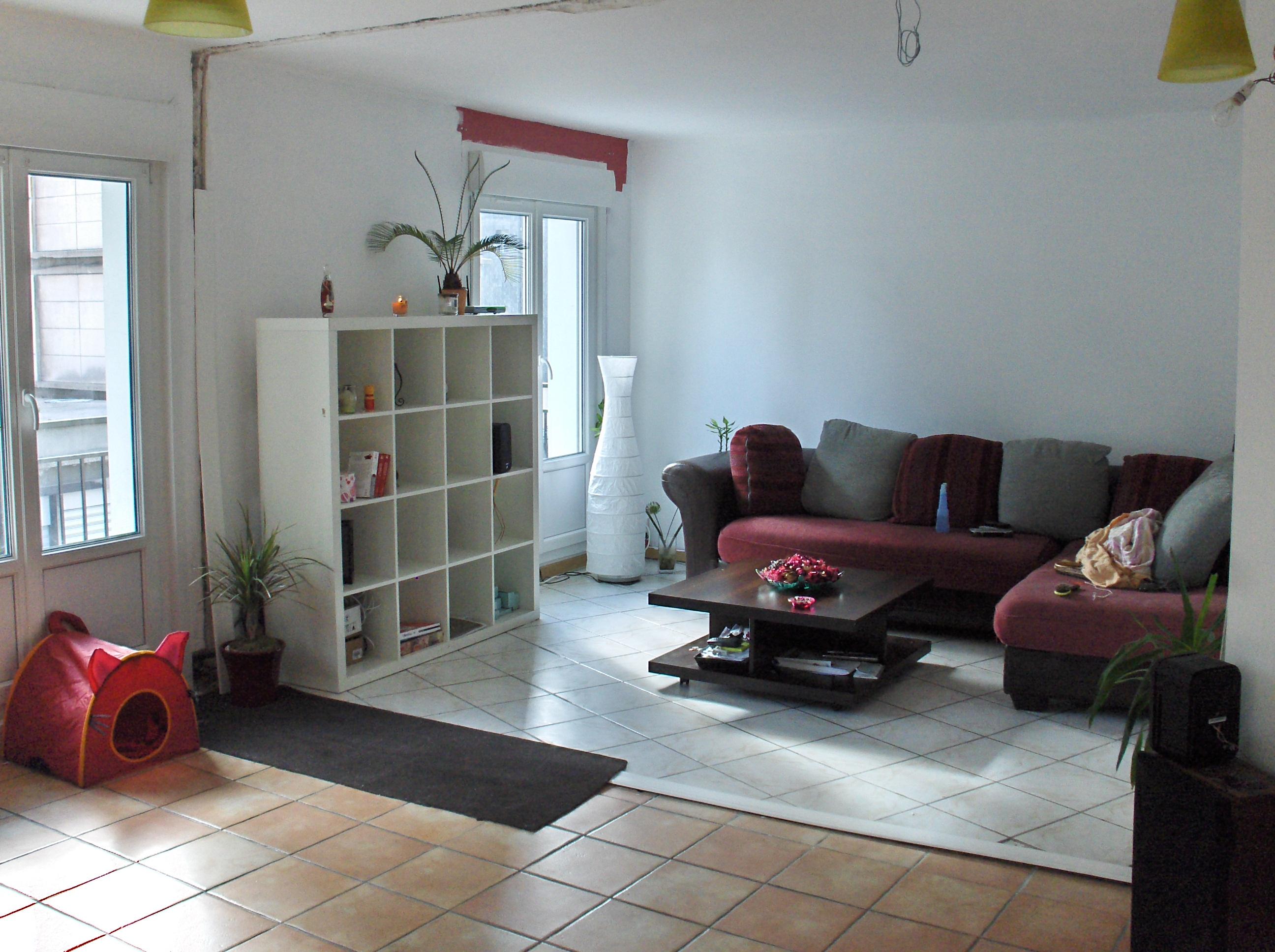 Salon blanc gris bois: meubles salon achat / vente pas cher ...